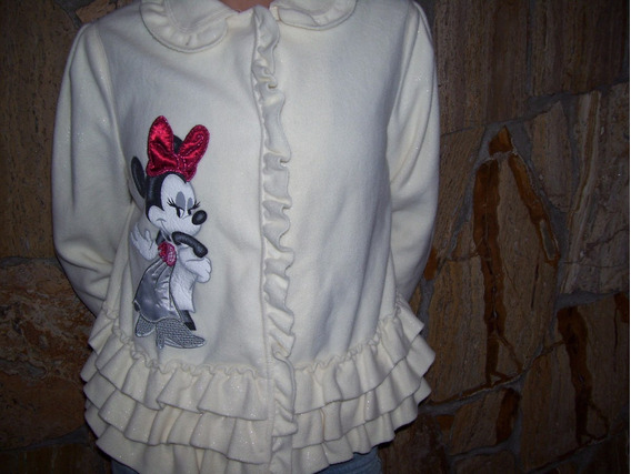 Saco Niña Talle 10/12 Años Marca Disney Original!!