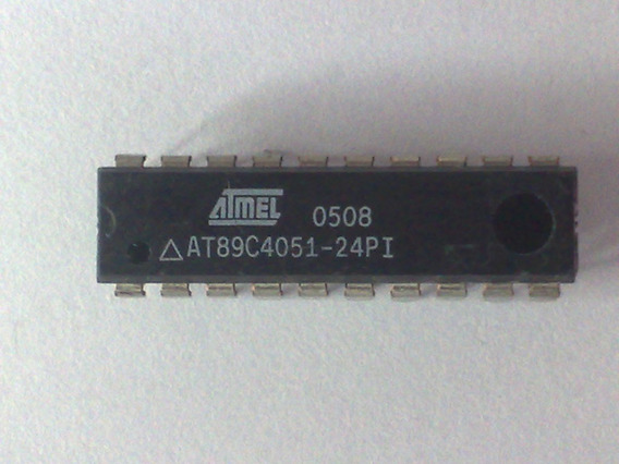 Ci Atmel At 89c4051-24pi