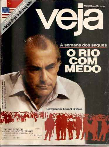 Revista Veja - Nº 784 - Ano De 1983 - Governador Leonel Briz