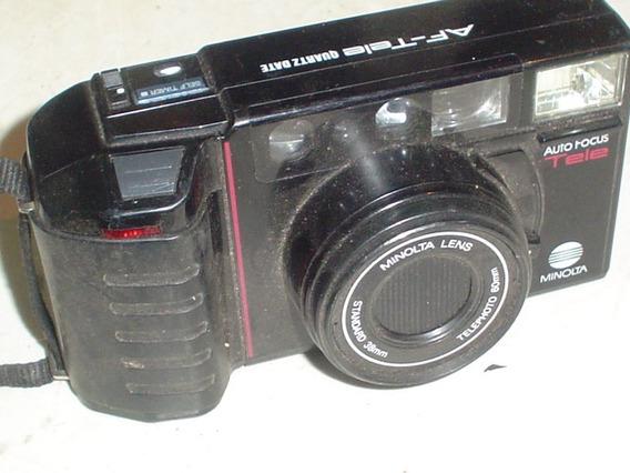 Camera Fotografica Minolta Bom Estado Com Zzom