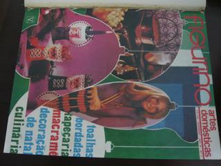 Revista Figurino - Artes Domésticas - Ano De 1971