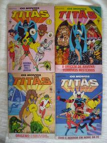 Os Novos Titãs! Editora Abril! R$ 15,00 Cada!