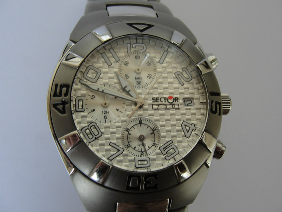 Relógio Sector Chrono Masculino Japan Movt. - 100 % Original