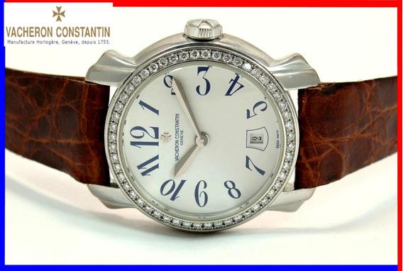 Vacheron Constantin Ouro 18k 750 Maciço Diamantes Semi-novo!