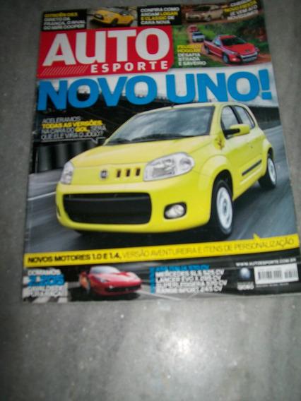 Auto Esporte 540 Novo Uno Gallardo Ferrari Mecedes Benz Sls