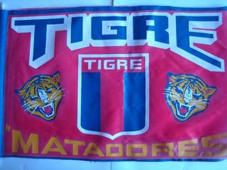 Antigua Bandera C.a. Tigre Matadores Decada Del 70