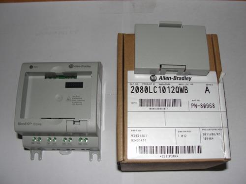 Relé Programable Allen Bradley 2080lc1012qwb Con Usb Y Lcd