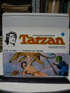 Gibi Hq Tarzan Nº 3 O Rio Do Tempo Russ Manning