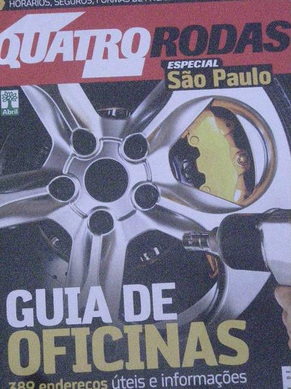4 Quatro Rodas Especial São Paulo-guia De Oficinas Ed 607