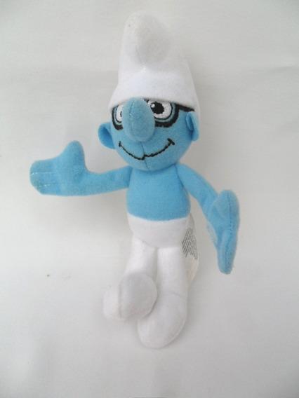Smurf Gênio Personagem De Desenho Coleção Pelúcia Mc Donald