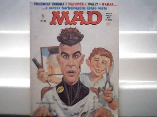 Revista Mad N. 88 / Violencia Urbana / Editora Record 1992