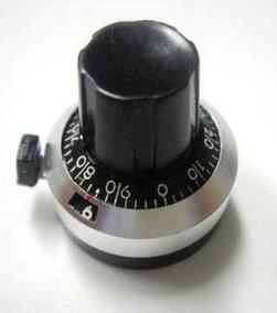 Dial Para Potenciometro Multvoltas De Precisão 3590s