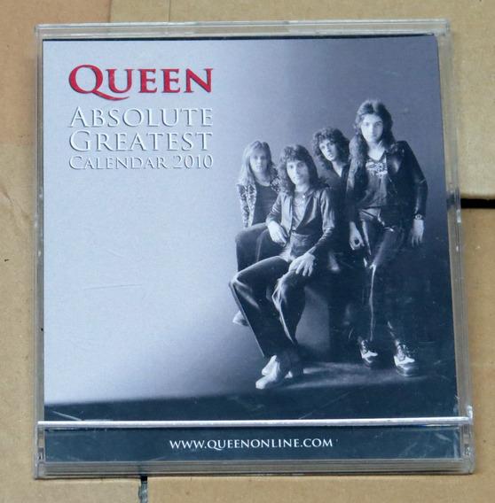 Raríssimo: Calendário Queen Absolute Greatest 2010