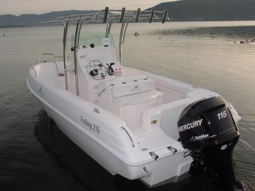 Casco Lancha Sea Crest Fishing 215 Zero A Faturar 2021