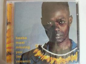 Cd Baaba Maal Mi Yeewnill ( Missing You) African Folk