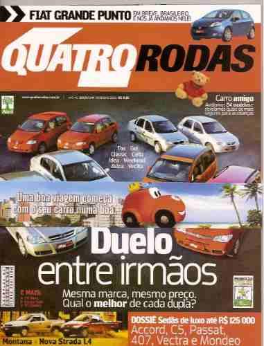 Revista Quatro Rodas - Duelo Entre Irmãos