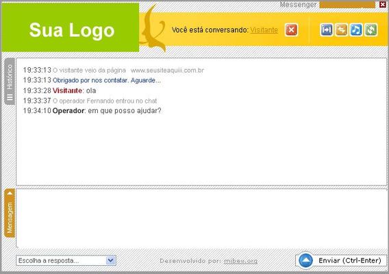 Atendimento Online Chat Em Php E Banco De Dados
