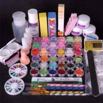 Uñas Acrilicas Set Kit Completo Profesional Primera Calidad
