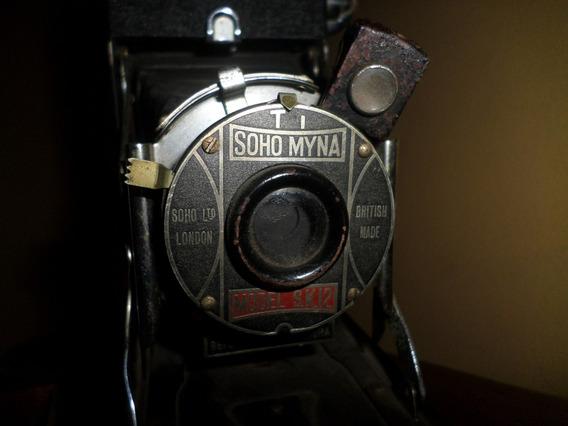 Antiga Câmera Fotografica Fole