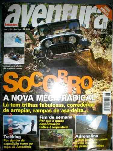 Revista Automovel Aventura Jeep Trilha Trekking Vela Delta