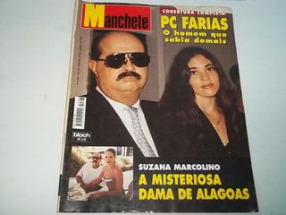 Revista Manchete 2308 De 1996 - Pc Farias - Sua Morte