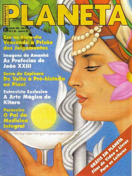 Revista Planeta Nº268 - Janeiro/95 (esoterismo/ocultismo)