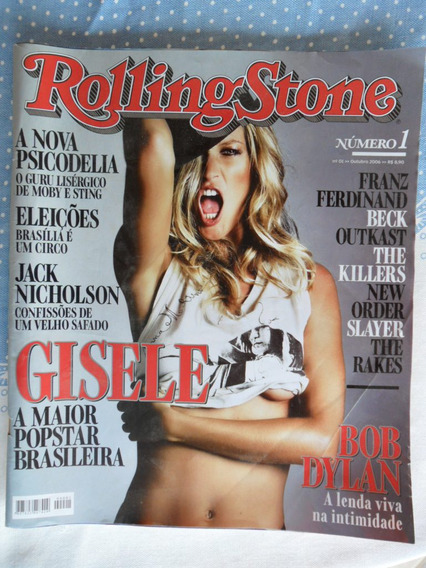 Rolling Stone Brasil (diversos Números!) Desde O 1!