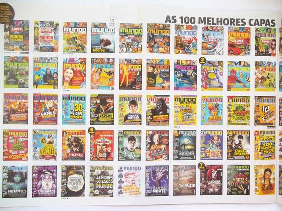 Mundo Estranho - Lote Com 47 Revistas Sem Repetição