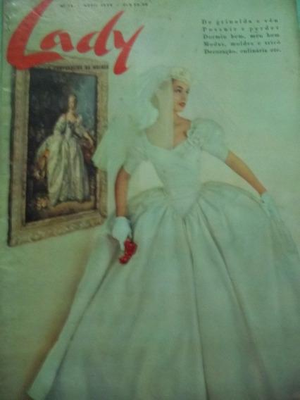 Revista Lady A Companheira Da Mulher Nº 16 - Abril 1958