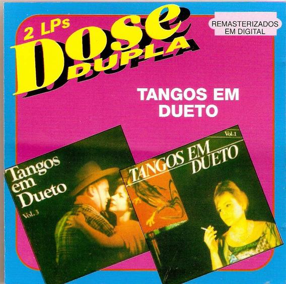 Cd Dose Dupla - Tangos Em Dueto - Novo***