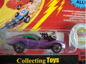 Johnny Lightning (1-43) Corvette Vicious - Lacrado!