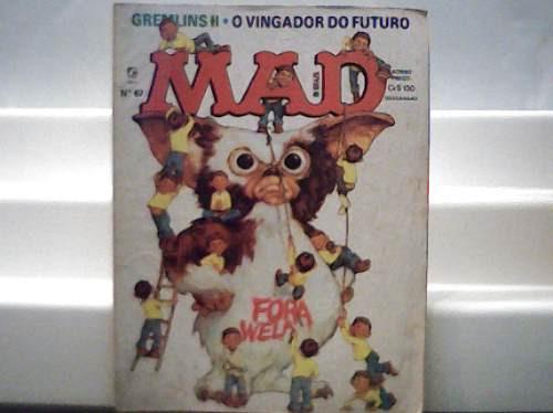 Revista Mad Nº 67 / Gremlins Ii /o Vingador Do Futuro / 1990