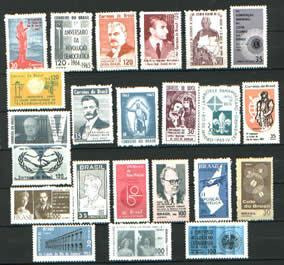 Ano Completo-1965 - 23 Selos Novos