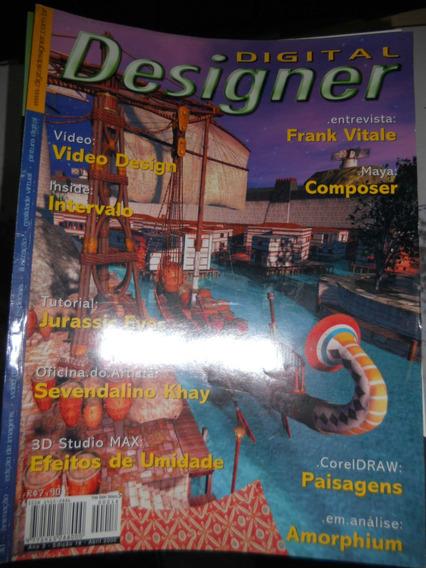 Lote De 40 Revistas Digital Designer