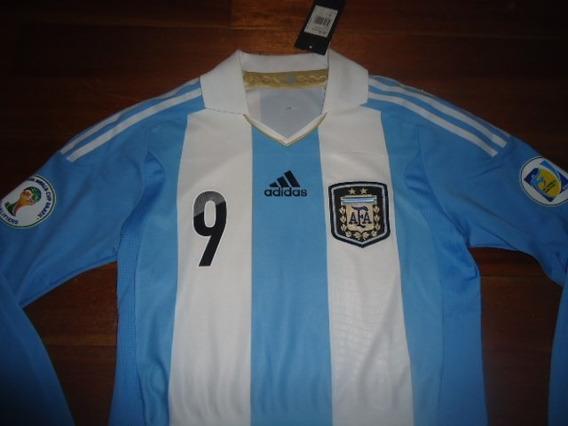 Camiseta Argentina Oficial Formotion Utileria #9 Higuain !
