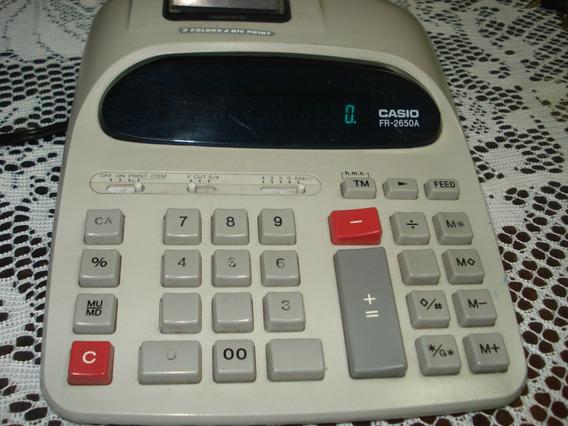 Calculadora De Mesa Casio Fr 2650a