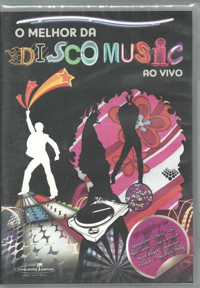 Dvd O Melhor Da Disco Music-ao Vivo-2008.