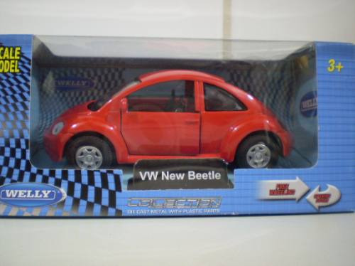 Welly Vw New Beetle - Escala 1/38