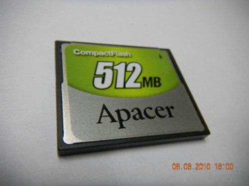 Cartão Compact Flash, 512mb, Apacer,