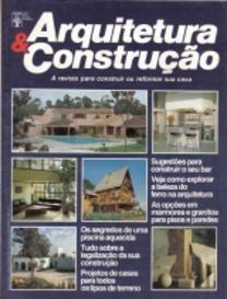 Arquitetura & Construção * Ago/88