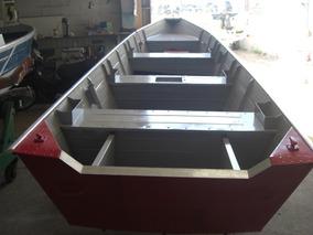 Barco Tibagi (aluminio)so Casco 6m Novo12x Cartao