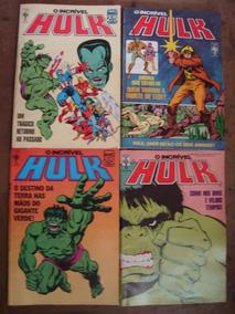 O Incrível Hulk Nºs 31 Ao 163 Ed. Abril Preço Para 44 Gibis