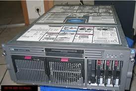 Servidor Hp Dl580 G2 4 Processadores 2 Gb Lam Fibra Optica