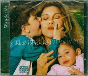 Cd Wanderléa - O Amor Sobreviverá - 2003 - Lacrado