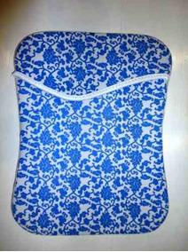 Bolsa/ Luva Para Tablet Floral De 10-11
