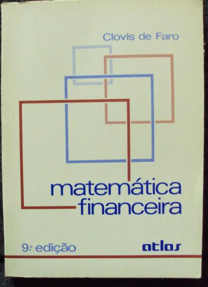 Matemática Financeira - Clovis De Faro (frete Grátis)