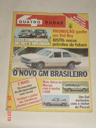 * Revista Quatro Rodas - N. 253 - Agosto De 1981 *