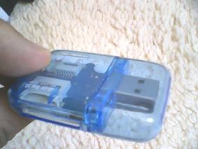 Leitor Adaptador De Cartão Sd Micro Sdhc Para Usb 2.0 Pc L8