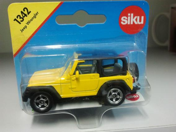 Siku - Jeep Wrangler - Escala 1/64