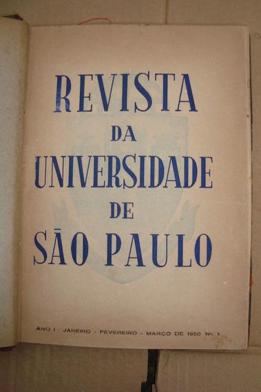 Revista Da Universidade De São Paulo Usp 1950 = Raridade